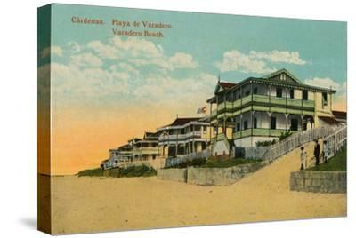 Varadero Beach, Cardenas, Matanzas, Cuba, c1924-Unknown-Stretched Canvas Print