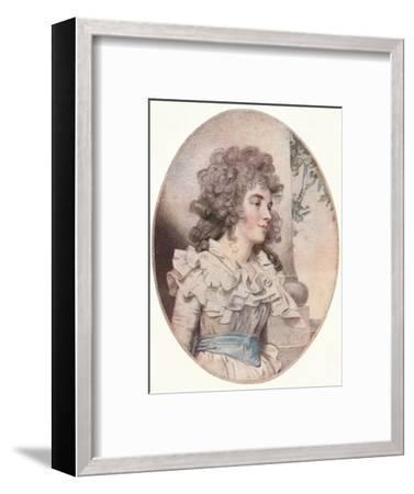 The Duchess of Devonshire, (1904)-Unknown-Framed Giclee Print