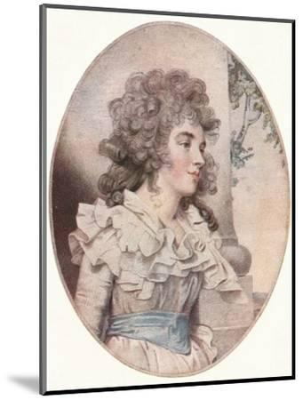 The Duchess of Devonshire, (1904)-Unknown-Mounted Giclee Print