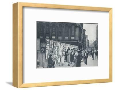 Washington Square, Greenwich Village, New York, USA, 1935-Unknown-Framed Photographic Print
