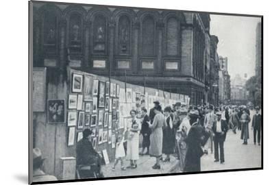 Washington Square, Greenwich Village, New York, USA, 1935-Unknown-Mounted Photographic Print