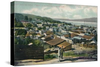 Santiago De Cuba. - Barrio de los Gailegos. - Partial View, c1910-Unknown-Stretched Canvas Print