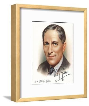 Sir Philip Gibbs, 1937-Unknown-Framed Giclee Print