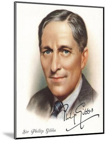 Sir Philip Gibbs, 1937-Unknown-Mounted Giclee Print
