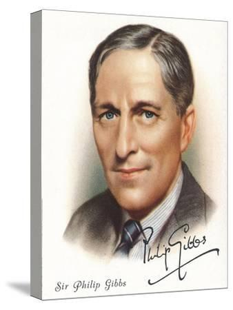 Sir Philip Gibbs, 1937-Unknown-Stretched Canvas Print