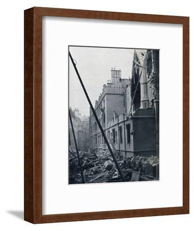 'The East End of the Middle Temple Hall', 1941-Unknown-Framed Photographic Print