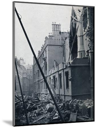 'The East End of the Middle Temple Hall', 1941-Unknown-Mounted Photographic Print