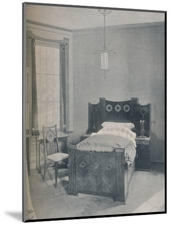 A child's bed designed by Peter Behrens, executed by TD Heymann, 1901-Unknown-Mounted Photographic Print