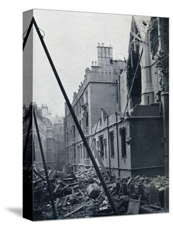 'The East End of the Middle Temple Hall', 1941-Unknown-Stretched Canvas Print