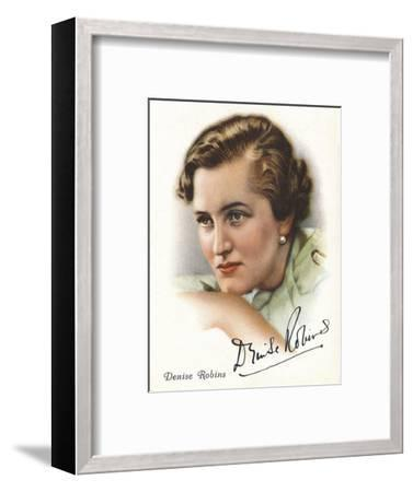 Denise Robins, 1937-Unknown-Framed Giclee Print