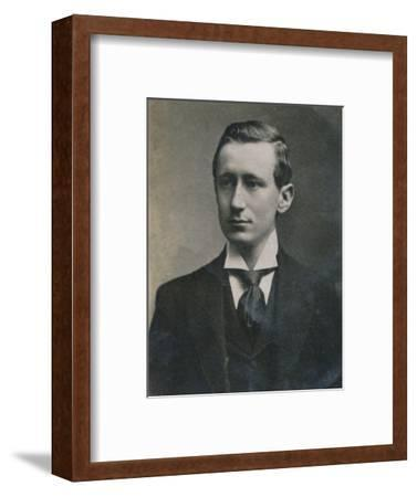 'Guglielmo Marconi', (1874-1937), Italian physicist and inventor, 1894-1907-Unknown-Framed Photographic Print