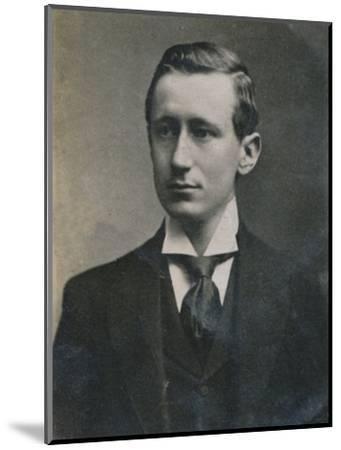 'Guglielmo Marconi', (1874-1937), Italian physicist and inventor, 1894-1907-Unknown-Mounted Photographic Print