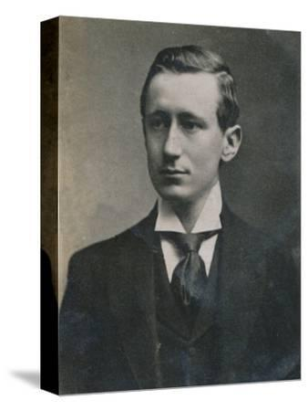 'Guglielmo Marconi', (1874-1937), Italian physicist and inventor, 1894-1907-Unknown-Stretched Canvas Print