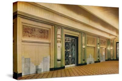 'A view of the new ballroom at Claridge's Hotel as designed by Oswald P. Milne', 1933-Unknown-Stretched Canvas Print