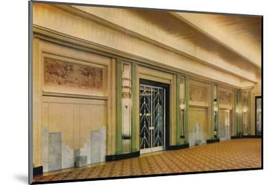 'A view of the new ballroom at Claridge's Hotel as designed by Oswald P. Milne', 1933-Unknown-Mounted Photographic Print