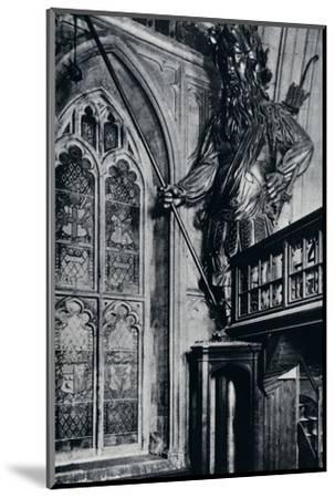 'Gog (Gogmagog), One of the two City giants burnt in the London Guildhall fire, 1940'-Unknown-Mounted Photographic Print