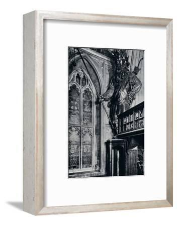 'Gog (Gogmagog), One of the two City giants burnt in the London Guildhall fire, 1940'-Unknown-Framed Photographic Print