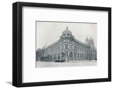 'The new Victoria and Albert Museum opened on June 26th, 1909', c1909-Unknown-Framed Photographic Print