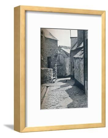 An old portion of St Ives, Cornwall, scheduled as a slum clearance area, 1935-Unknown-Framed Photographic Print