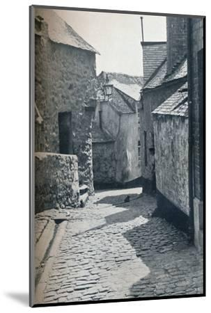 An old portion of St Ives, Cornwall, scheduled as a slum clearance area, 1935-Unknown-Mounted Photographic Print