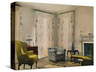 Morning room in the house of Mr Vestey at 9 Templewood Avenue, Hampstead, London, 1932-Unknown-Stretched Canvas Print