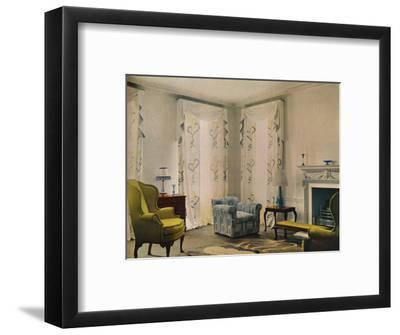 Morning room in the house of Mr Vestey at 9 Templewood Avenue, Hampstead, London, 1932-Unknown-Framed Photographic Print