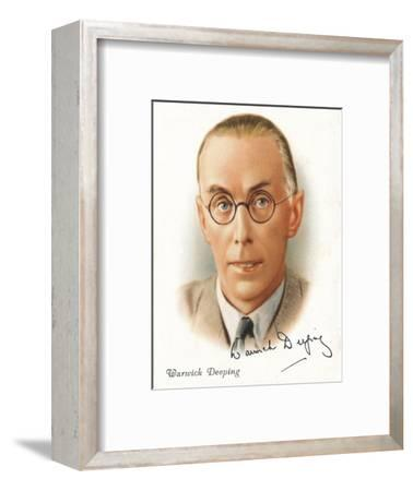 Warwick Deeping, 1937-Unknown-Framed Giclee Print