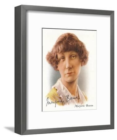 Marjorie Bowen, 1937-Unknown-Framed Giclee Print