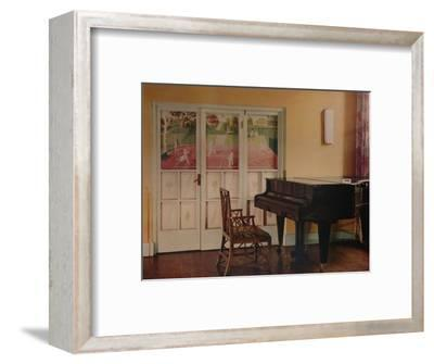 Decoration by Eric Ravilious at Sir Geoffrey Fry's flat, Portman Square, London, 1933-Unknown-Framed Photographic Print