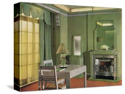 General Electric Co's Showroom, 1933-Unknown-Stretched Canvas Print