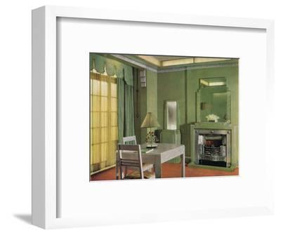 General Electric Co's Showroom, 1933-Unknown-Framed Photographic Print