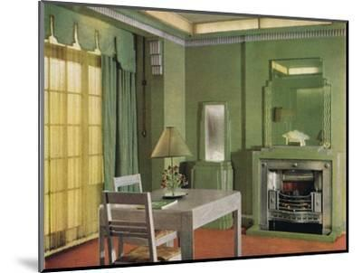 General Electric Co's Showroom, 1933-Unknown-Mounted Photographic Print
