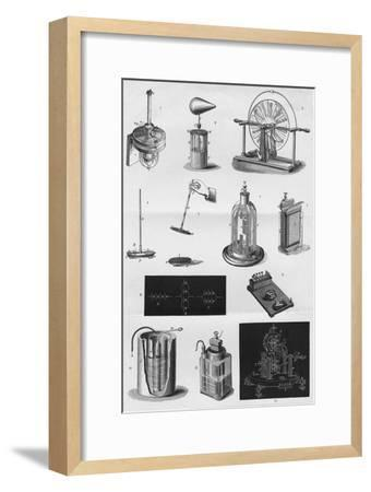 'Electricity', c1891-Unknown-Framed Giclee Print