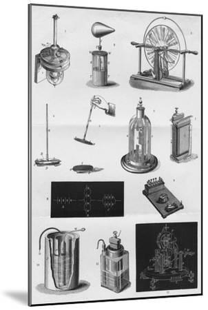 'Electricity', c1891-Unknown-Mounted Giclee Print