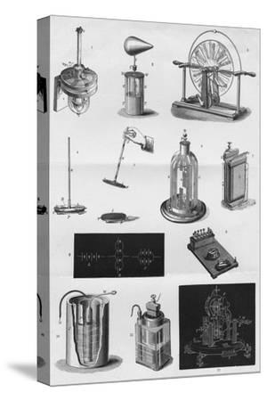 'Electricity', c1891-Unknown-Stretched Canvas Print