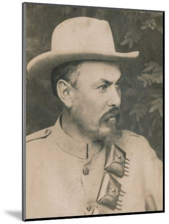 'General Louis Botha', (1862-1919), Afrikaner soldier and statesman, 1894-1907-Unknown-Mounted Photographic Print