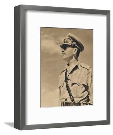 'General the Hon. Sir Harold Alexander', 1943-Unknown-Framed Photographic Print