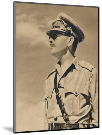 'General the Hon. Sir Harold Alexander', 1943-Unknown-Mounted Photographic Print