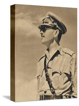 'General the Hon. Sir Harold Alexander', 1943-Unknown-Stretched Canvas Print