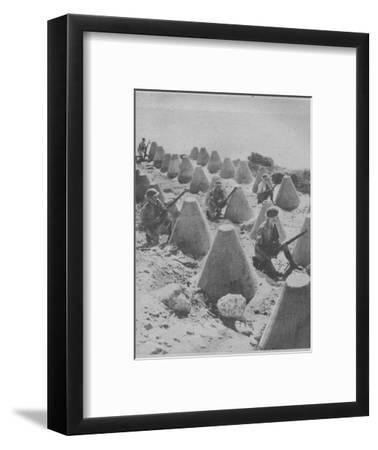 'British Troops in Syria', 1941-Unknown-Framed Photographic Print