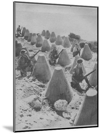 'British Troops in Syria', 1941-Unknown-Mounted Photographic Print