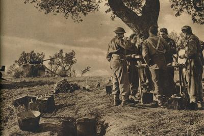 'Mobility and Fire Power in Italy', 1943-44-Unknown-Framed Photographic Print