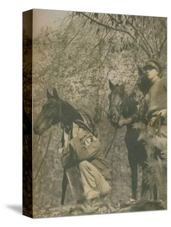 'Happy with Mounts Again', 1943-44-Unknown-Stretched Canvas Print