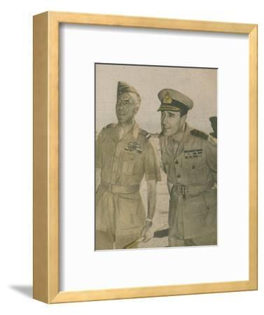 'Supreme Allied Commander S.E. Asia', 1943-44-Unknown-Framed Photographic Print
