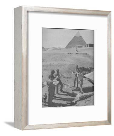 'Serving in the Middle East', 1945-Unknown-Framed Photographic Print