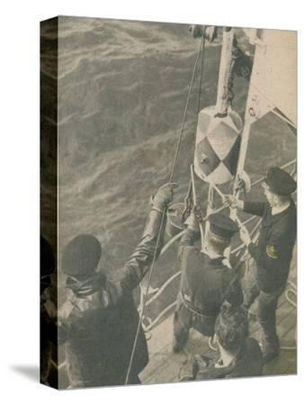'Aboard a British Minesweeper', 1945-Unknown-Stretched Canvas Print