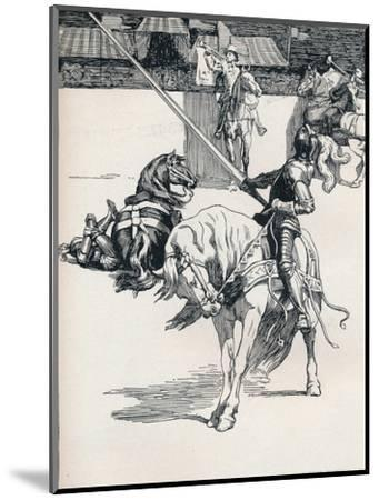 'Illustration for Ivanhoe by Anonymous', c1898-Unknown-Mounted Giclee Print