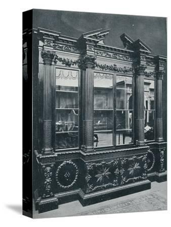 'Georgian Cabinet, reproduced by permission of H.R.H. The Princess of Wales', 1908-Unknown-Stretched Canvas Print