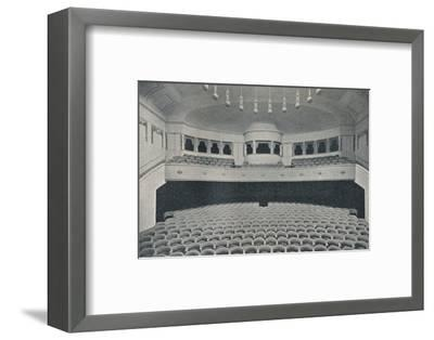 'Interior of a new Kino Theatre in the West End of Berlin', c1913-Unknown-Framed Photographic Print
