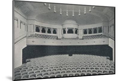 'Interior of a new Kino Theatre in the West End of Berlin', c1913-Unknown-Mounted Photographic Print